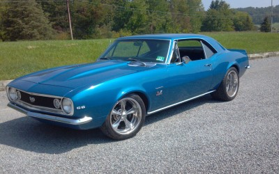 Ted (Waldwick Auto) 67 Camaro Front